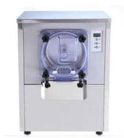 h crema al por mayor-Máquina de helados duros comerciales 20L / h Helado de acero inoxidable 220V