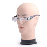 Wholesale Tv Protection Glasses - BIJIA 2.1X Magnifying Glasses Magnifier Telescope Eyeglass for Reading Fishing Watching TV Eyes Protection Glass