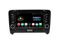 Wholesale Audi Gps Stereo - 7'' Quad Core Android 5.1.1 Car DVD Player For Audi TT MK2 2006-2014 With Stereo Radio GPS Map Wifi BT