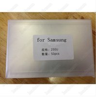 Wholesale oca optical clear adhesive - 100PCS 250um Thick OCA Optical Clear Adhesive Sticker for Samsung Gaxaly s3 s4 i9500 s5 S6 Note 2 3 4 5 free DHL
