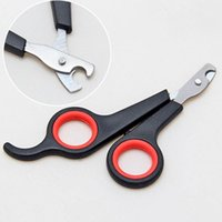 Wholesale Professional Cat - Pet Dog Cat Professional Products Nail Clipper Cutter Grooming Scissors Clippers for Animals Cats