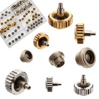 Wholesale watch crown parts for sale - Lowest Price Brand New Watch Crown for Copper mm mm mm Silver Gold Repair Accessories Assortment Parts