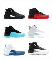 Wholesale 2016 new Online Mens Basketball Shoes air Retro TAXI Playoff BLAck Flu Game Cherry retro12 XII Men Sneakers boots