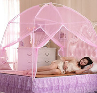 Wholesale Double Tent Mosquito - Mosquito Nets Screen Over Bed Of Chinese Gymnast Kaya Worms For Mom Peace Of Mind Baby Only Cat Measures Simple Assembly Tent Free Shipping