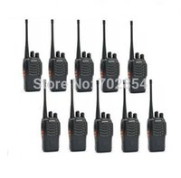 Wholesale Cheapest Baofeng - Free shipping 10 pcs lot Cheapest Baofeng 5W 16CH UHF400-470NHZ Handheld Two way Radio BF-888S walkie talkie
