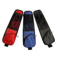 cubierta de tela de nylon al por mayor-Interior del coche Fundas para asientos Bolsas colgantes Silla Bolsillos de almacenamiento lateral Tela oxford impermeable Bolsas colgantes antideslizantes