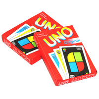 playing cards puzzle UK - 108pcs UNO Card Game Fun Poker Playing Cards Family Entermainment Boards Game Kids Funny Puzzle Game DHL