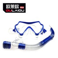 Wholesale Dry Suit Dive - Brahma 2016 full dry breathing tube diving glasses suit snorkeling diving goggles 8019 adult swim