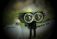 Wholesale Cycle Headlamp - 5000LM 2x CREE XML XM-L T6 LED Bicycle Bike Light Lamp cycling X2 bike light headlamp headlight+Charger+battery