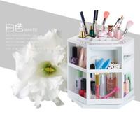 Wholesale Princess Gift Boxes - new ! 360 degree cosmetics rotary storage box Princess cosmetics box storage box+gift