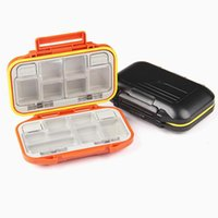 Wholesale Fishing Box MC2 Plastic g Fishing Tackle Box Waterproof box thick Fishing tool lure boxes cm