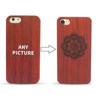 Wholesale laser engraved iphone case for sale – best For iPhone S Plus Plus Plus Laser Engraved Real Wood Case Customize case