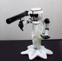 Wholesale Sexy Smoke - New arrival Glass bubbler ROCKET MAN HAND pipe sexy smoking pipes