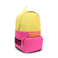 Wholesale Double Book Light - Korean style 6 color Cute double-Shoulder book Bags fashion girls women canvas Dots schoolbag middle school students backpacks