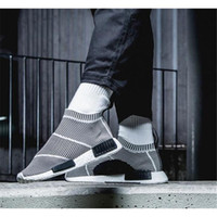 Wholesale Original Quality Shoes - High quality Originals NMD City Sock PK NMD man and woman running shoes fashion sports shoes size eur 36-44 free shipping