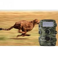 Wholesale Pir Ir Camera - H3 720P Detection Non Flash Hunting Mini Camera Infrared Anti Theft Video Camera Scouting Camera IR PIR Motion Cameras