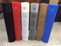 Wholesale Mini Loud Speaker Subwoofer Mp3 - WM-1300 Pill XL Speaker Bluetooth Speaker Super Bass Wireless Subwoofers Support FM TF Card USB Loud Speaker WM1300 For i6s Sumsang 52-YX