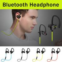 Wholesale Ear Plugs Bluetooth - FREESOLO 56S Sport Bluetooth universal type Hang Ear Type Wireless 4.1 Ear Stereo Wireless Music Earphones Running Ear Plug-in Microphone He