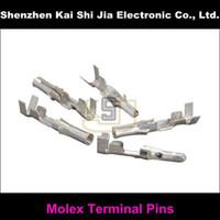 Wholesale Pin Terminal Crimp - Wholesale- 50Sets   Lot Molex 8981 Crimp Wire Terminal Pins