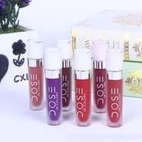 Wholesale lips soc for sale - Dose Of Colors Liquid Matte Lipstick Waterproof Dose of colors lipstick lip gloss SOC Lip Gloss Lipgloss