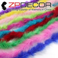 ZPDECOR Feather Party Fournisseur Fluffy et Belle 10 Gramme Mix Couleur Décoratif Marabou Plume Boa En Gros