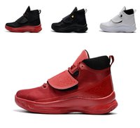 Wholesale Super Fly Basketball Shoes - High quality Super Fly 5 PO X mens Basketball shoes red white black New super fly 5 Sports shoes trainer sneaker eur 40-46