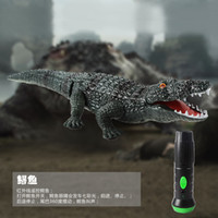 Wholesale Toys Car Pet - Wholesale- Le Yu Genuine Creative Tricky Remote Control Cars Electronic Pet Alligator Animal Model of Educational Toys for Children