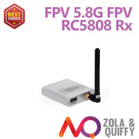 2014 FPV 5.8G wireless RX RECEVIER 8CH Ricevitore audio audio RC5808 per FPV Brand new