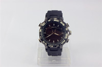 Wholesale Steel Butterfly Bracelets - Mens Black Athletic Department Store Ar5905 Chrono Silicone Bracelet Watch