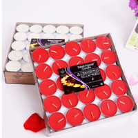 Wholesale Paraffin Tea Light Candles - Scented Candle Hosley's Set of 50 Tea Light Candles 4 Fragrance Option Tealights Birthday Valentine's day Weddings Product Code :101-1003
