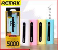 Wholesale power bank samsung original online - Original Remax E5 Power Bank mAh portable Ultra Slim Powerbank External Battery Charger for iphone samsung mobile