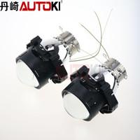 Wholesale Hid Xenon China - Free Shipping Car china oem Hella 6 HID Bi-Xenon Projector Lens High low Beam light