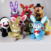 Unisex newest video games - Newest Five Nights at Freddy Stuffed Plush Toy Game Role Cartoon Animal Doll Kids Children Gift Freddy Bonnie Foxy Chica