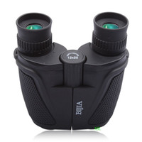 Wholesale X Mini 11 - High Quality 12X Nitrogen Waterproof Binoculars Portable 12x25 FMC Green Film Mini Telescope For Watching Concert Opera Or Outdoor Birding