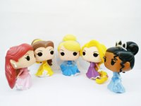 Wholesale Kids New Toys Arrivel - Hot sale! new arrivel funko pop kid toys princess brinquedos the little mermaid pvc action figure ariel dolls