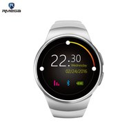 Wholesale Digital Analog Phone - Rmega Bluetooth Smartwatch discount display mobile phone with new multicolor smart phone rate of heart rate smart card