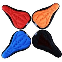 Cyclisme Bike Saddle Gel de silicone confortable Coussin Seat Soft Pad Cover Bicycle Skidproof Selle Gel Seat Cushion Bicycle Parts