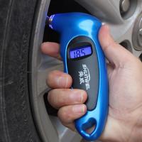 Wholesale Tire Monitor Gauge - car tire pressure monitor digital tire gauge precision car tire deflated tire pressure tester night version