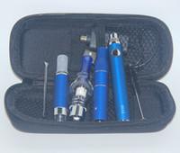 vaporizador g5 al por mayor-3in1 Vaporizador eVod Ecigs AGO G5 Seco Herb MT3 Eliquid Atomizer 3in 1 Vape Pen Wax Glass Globe 3 en 1 Kits de Vapor