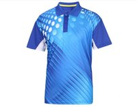 Wholesale Shirts For Sublimation Wholesalers - Man's short-sleeve Polo shirt sports fashion Quickly Dry Sublimation Printing Polo Shirt For Men With Moisture Absorbing and Sweat Releasing