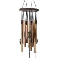 Wholesale Birthday Wishes Gifts - 62 cm Antirust Copper Wind Chimes Lovely Outdoor Living Yard Garden Decorations Birthday Gifts to Friends and Best Wishes