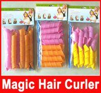 Wholesale Salon Styling Tools - Amazing Magic Leverag Hair Curlers Curlformers Hair Roller Hair Styling 20cm 30cm 45cm 55cm long Tools In Stock