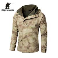 Wholesale G8 Windbreaker Jacket - MEGE G8 Windbreaker, Tactical Army Camouflage Coat, Warm Fleece inside, Military Jacket Waterproof Clothes, Men Jackets