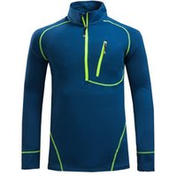 Wholesale Polartec Cycling - Wholesale-2016 Men's Hiking Brand Fleece Jacket Polartec Hiking Jacket Men For Outdoor Hiking Camping Cycling Sportwear free shipping