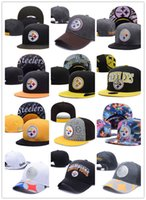 Wholesale Cheap Baseball Snapback Free Shipping - 2017 new wholesale price basketball Snapback Hat PITTSBURGH Snap Back Hat Football Cheap Hat Adjustable men women Baseball Cap free shipping