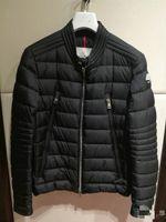 Wholesale Duvet Button - Street style winter coats Men's Jacket Duck Duvet Down Stand Collar Bomber Coat Male down garment