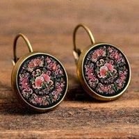 Wholesale Bohemian Earrings Shop - NEW Arrival Mandala Earrings OM Symbol Buddhist Zen Retro earrings Fashion Jewelry Earrings For Women Online Shopping India