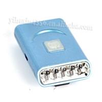 kapak modu toptan satış-MINI 150 Lümen 5 LED Far Ayarlanabilir Dayanıklı 2-Mode Ön Cap Başkanı Torch Işık Lambası USB Şarjlı pil Ile Kamp için