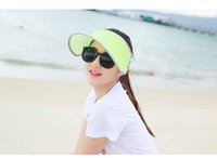 Tie-dyeing special blend women - Superstar identical Visors Hot sale Wide Brim hat with colors for choose A Special hat for sun protect