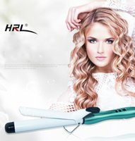 Wholesale China Hair Products Wholesale - Curling Iron Hair Curler Wand Professional Tourmaline Ceramic Curling Wand Iron Dual 110V-240V wholesale hair salon products edge control